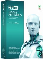 ESET NOD32 Antivirus, licence pro 1 PC na 1 ROK, krabice