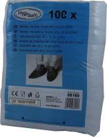 Návleky na boty modré 40 x 14 cm (CPE) [100 ks]