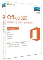 Office 365 Home 32-bit/x64 CZ pronájem
