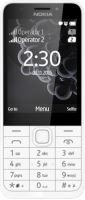 Nokia 230 Dual SIM White Silver