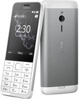 Nokia 230 Single SIM White Silver