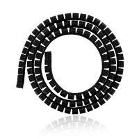 4W Organizér kabelů 22MM 1,5m černý