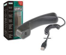 DIGITUS USB telefonní set/sluchátko pro Skype/ICQ/