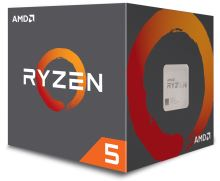 CPU AMD Ryzen 5 1400 4core (3,2GHz) chladič Wraith