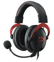 HyperX Cloud II - Pro herní headset červený
