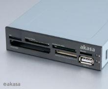 AKASA int. USB 2.0 interní čtečka karet + USB 2.0