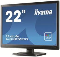 "22"" LCD iiyama E2280WSD- LED, 16:10, 5 000 000:1"