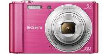 Sony Cyber-Shot DSC-W810 růžový,20,1M,6xOZ,720p