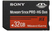 Sony Memory Stick Pro DUO High Grade MSHX32B