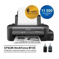EPSON WorkForce M105, inkoustový tankový systém mono, A4