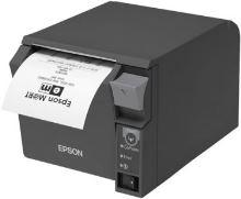 EPSON pokl.termo TM-T70II,černá,WiFi.+USB,zdroj