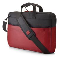 "HP 15.6"" Duotone BriefCase - Red"