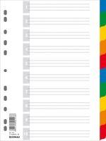 rejstřík - rozřaďovač  A4 10 barev