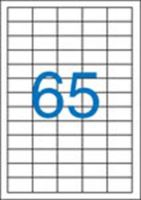 Etikety 38x21,2 65etiket arch/100 archů