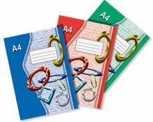 Sešit 425e A4 20 listů čtvereček EKO