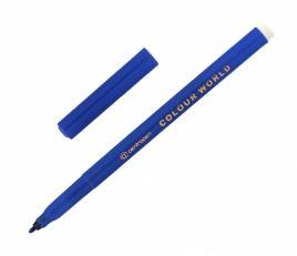 Popisovač 7550 modrý plast. hrot 1 mm