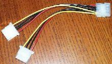 Napájecí kabel 5.25'' -> 2x5.25''
