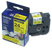 TZ-651,  žlutá/černá, 24mm, box 20ks