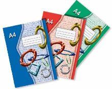 Sešit 445e A4 40 listů čtvereček EKO