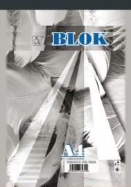 Blok A5 čistý 50 listů 15050 - šitý
