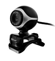 webkamera TRUST Exis Webcam - Black/Silver