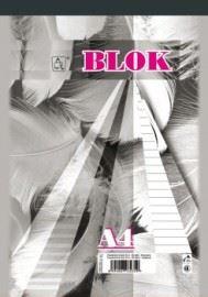 Blok A6 linka 50 listů 16054 - šitý