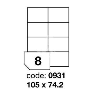 Etikety 105x74 8 etiket arch /100 archů