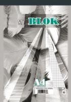 Blok A4 čtvereček 50 listů 14055 - šitý