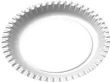 Papírové talíře mělké 15 cm 100 ks