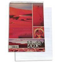 Blok A5 spirála horní čtvereček 50 listů
