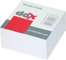 Špalík nelepený bílý 8,5x8,5x4 cm