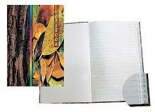 Záznamní kniha A4 100 listů linka rejstřík
