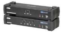 Aten 4-port DVI KVMP USB, usb hub,audio 7.1,kabely