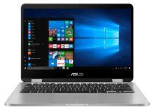 "ASUS VivoBook Flip TP401 - 14T""/N3350/64GB/4G/W10S šedý"