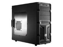CoolerMaster case miditower K350, ATX,black,USB3.0