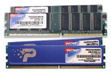 2GB DDR 400Mhz  PATRIOT CL3 kit 2x1GB