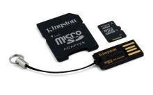 32GB Mobility Kit G2 Kingston (microSD+adapt+čteč)
