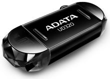 64GB ADATA UC320 USB 2.0 OTG černá