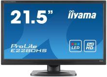 "22""LCD iiyama E2280HS-B2 - LED, 16:9, HDMI,5M:1"