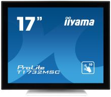 """17"""" LCD iiyama T1732MSC-W1X -DVI,USB,kapacit.,bílá"""