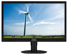 "24"" LED Philips 241S4LCB-FullHD, DVI, has"