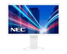 "22"" LED NEC E224Wi-FHD,IPS,DP,pivot,silver-white"