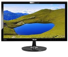 "22"" LED ASUS VK228H -5ms,Full HD,webkamer,DVI,HDMI"