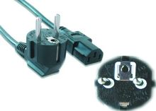 Síťový kabel VDE 220/230V, 9m napájecí