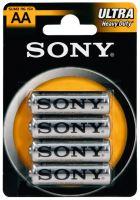 SONY Baterie tužkové SUM3NUB4A, 4ks R6/AA ULTRA
