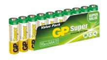 GP Super Alkaline 10ks AAA