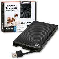 AXAGO USB2.0 - SATA 2.5'' externĂ WAVE box