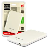 "AXAGO USB2.0 - SATA 2.5"" externí PURE box WHITE"