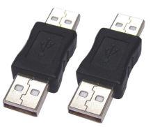 PremiumCord USB redukce A-A, Male/ Male