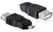 PremiumCord USB redukce A/female-MicroUSB/male
